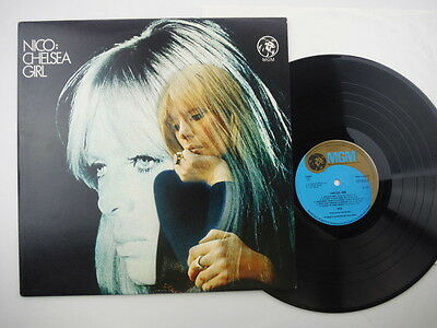 Nico,Chelsea girl,Early pressing with matrix numbers A//2 & B//2,LP