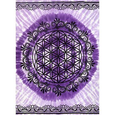 Flower of Life Cotton Tapestry!