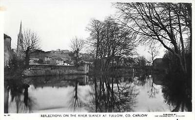 Postcard The River Slaney at Tullow Co. Carlow Ireland