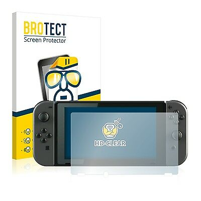 2x BROTECT Screen Protector for Nintendo Switch Protection Film