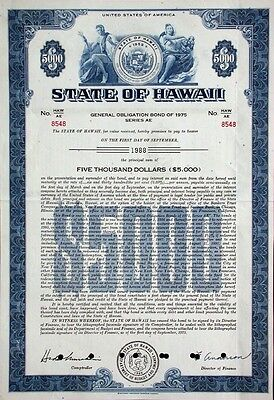 6,3% State of Hawaii - 1975