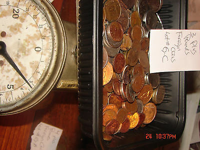 [#G-C ] [3] Pounds of foreign Coins. A  nice variety and mix ,coins of World.