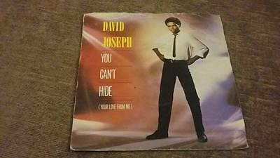 """David Joseph """" You Can't Hide Your Love From Me """" Ex Vintage """" 45 Rpm"""