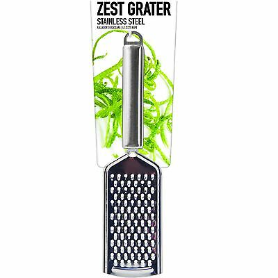 Zest Hand Grater Stainless Steel Lemon Lime Cheese Orange Cooking Utensils