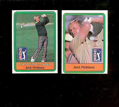 1981 Donruss Golf Complete Set Nmmt *inv0261