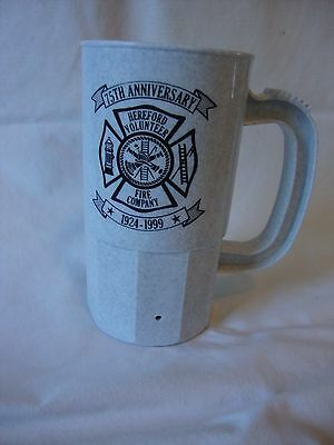 Plastic Cup - Hereford Volunteer Fire Company - 75th Anniversary - Maryland