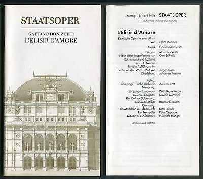 Marcello VIOTTI, L'Elisir d'Amore, Staatsoper 1996
