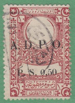 Syria French Occupation ADPO Proportional Fees Revenue McDonald #129 used cv $15