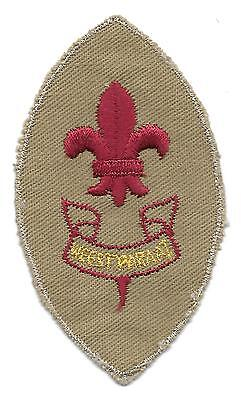 1st CLASS DUTCH SCOUT BADGE