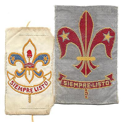 Two South American Scout Badges