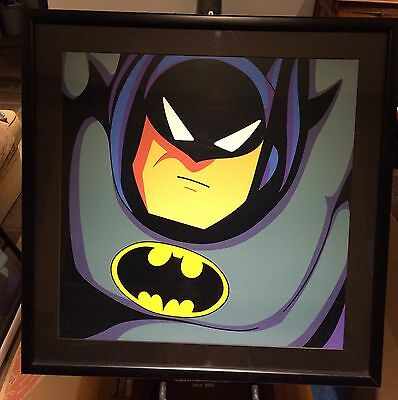 "Warner Bros Batman Animated  ""Mask Of The Phantasm"" Limited Huge Art Lithograph"