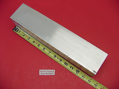 "2 Pieces 3""x 3""x 1/4"" Wall x 14"" Long ALUMINUM SQUARE TUBE 6061 T6 3"" SQ x .25"""