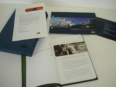 Land Rover Owners Gift Little Green Book And Ownership Features