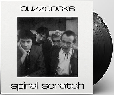 "BUZZCOCKS 7"" Spiral Scratch 40th anniversary vinyl 300 copies only with insert"