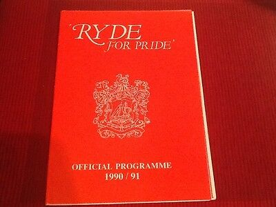 Pre-Season Friendly Ryde V Burnley 1990/91