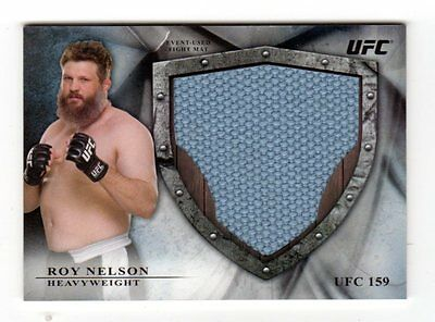 Roy Nelson  2014 Topps Ufc Bloodlines Jumbo Fight Mat Relics #/ 120
