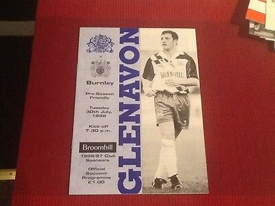 Pre-Season Friendly Glenavon 30/7/1996