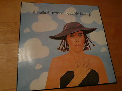 ANNETTE PEACOCK I Have No Feelings - LP - Ironic Records ‎IRONIC 4