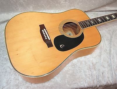 1970's MIJ Epiphone FT-150BL FT-150 made in Japan acoustic guitar