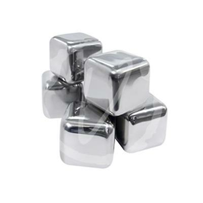 Vinotemp EP-SIMPLEICE01 Epicureanist Stainless Ice Cubes Set of 6