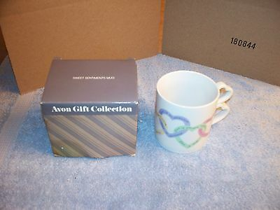 Avon Sweet Sentiments Mug Created In Korea Exclusively For Avon Products