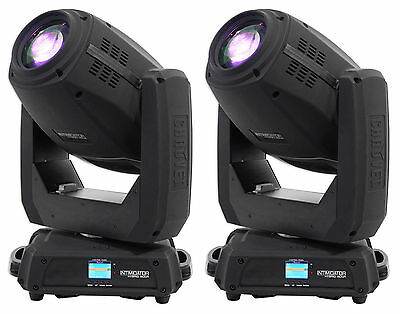 (2) Chauvet DJ Intimidator Hybrid 140SR Moving Head Beam, Spot, Gobo DMX Lights