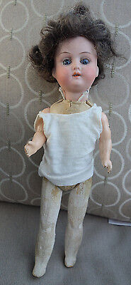 Antique Bisque Doll marked Heubach Koppelsdorf 250 10 1/2""