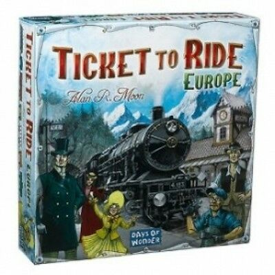 Ticket to Ride Europe Brand New