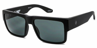 New Unisex Spy Sunglasses CYRUS Matte Black-Happy Grey Green