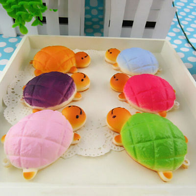 Hot Squishy Bread Scented Tortoise  Slow Rising Charms Key Phone Straps