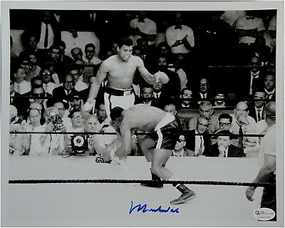 Muhammad Ali Hand Signed Autographed 8x10 Photo May 25th, 1965 Image Online