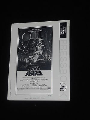 Star Wars George Lucas Harrison Ford Carrie Fisher   Original Press Book