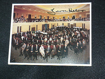 1987 UNITED STATES SENATE POSTCARD   Signed by JESSIE HELMS