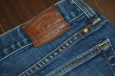 6717 Mens Lucky Brand 455 Relaxed Bootcut Denim Blue Jeans Size 32 x 32