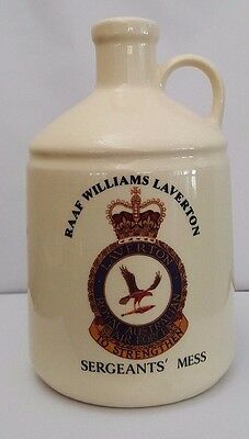Elischer RAAF Williams Laverton Sergeants Mess - The Lady of the Mess Flagon