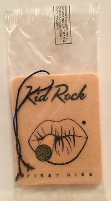 KID ROCK First Kiss PROMO ONLY Air Freshener NEW Sealed VERY HARD TO FIND!