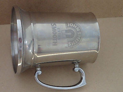 JOHN SMITHS  EXTRA SMOOTH Stainless Steel beer tankard