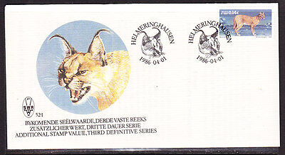 South West Africa  1986 - African Lynx  First Day Cover - Unaddressed
