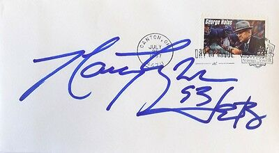 Marty Lyons New York Jets Signed First Day Cover
