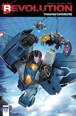 TRANSFORMERS REVOLUTION #1, 1:10 VARIANT, New, First print, IDW (2016)
