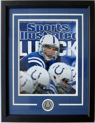 Andrew Luck Indianapolis Colts 17x22 Framed Sports Illustrated Cover Photo