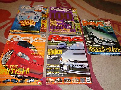 Collection Of 5 Vintage Revs  Magazines
