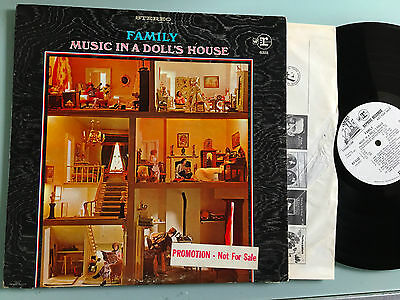 LP    Family Music In A Doll's House Prog Psych White Label Promo
