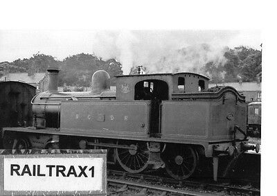 Railway Steam Photograph - 11 At Unknown Station? (Belfast & County Down Rly.).