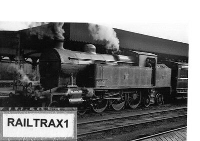 Railway Steam Photograph - 25 At Unknown Station? (Belfast & County Down Rly.).