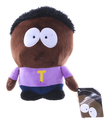 "New Official 10"" South Park Plush Soft Toys Token Black Soft Toy"