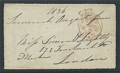 Ireland 1836 Freefront Signed by Sir David Roche MP Limerick to London