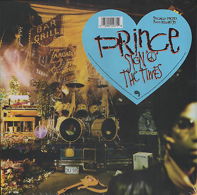 PRINCE LP x 2 Sign O The Times DOUBLE Vinyl Re-issue + Promo Sheet 2016 SEALED