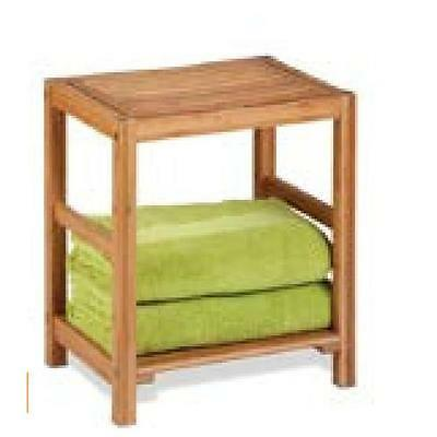 Honey-Can-Do BTH-02100 bamboo spa bench