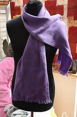 Men's Purple Scarf Very Long, Marks & Spencer, Very  Good Condition